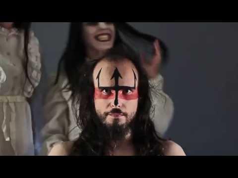 Metalhead Total Haircut - 40cm to zero - timelapse transfiguration