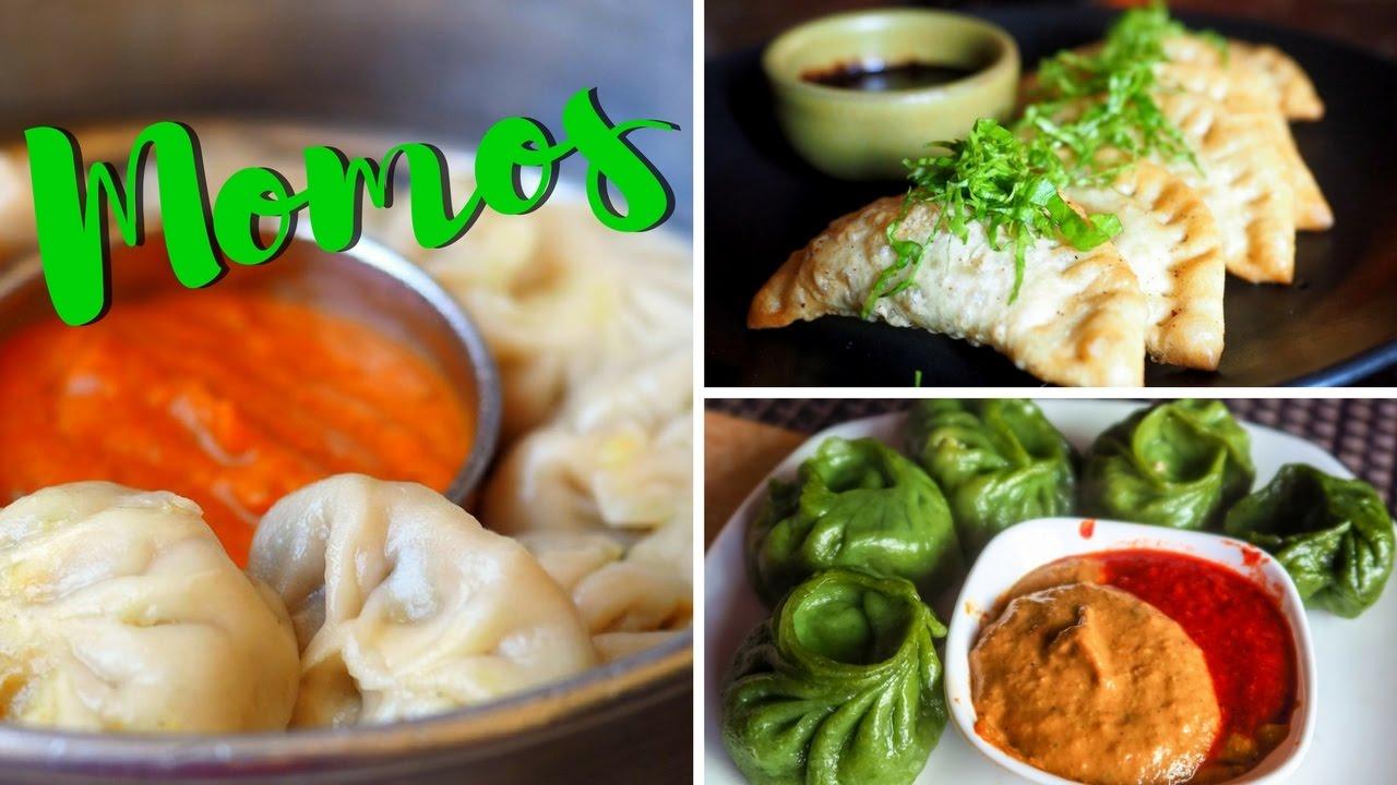 nepali food - momo taste test in kathmandu, nepal - youtube
