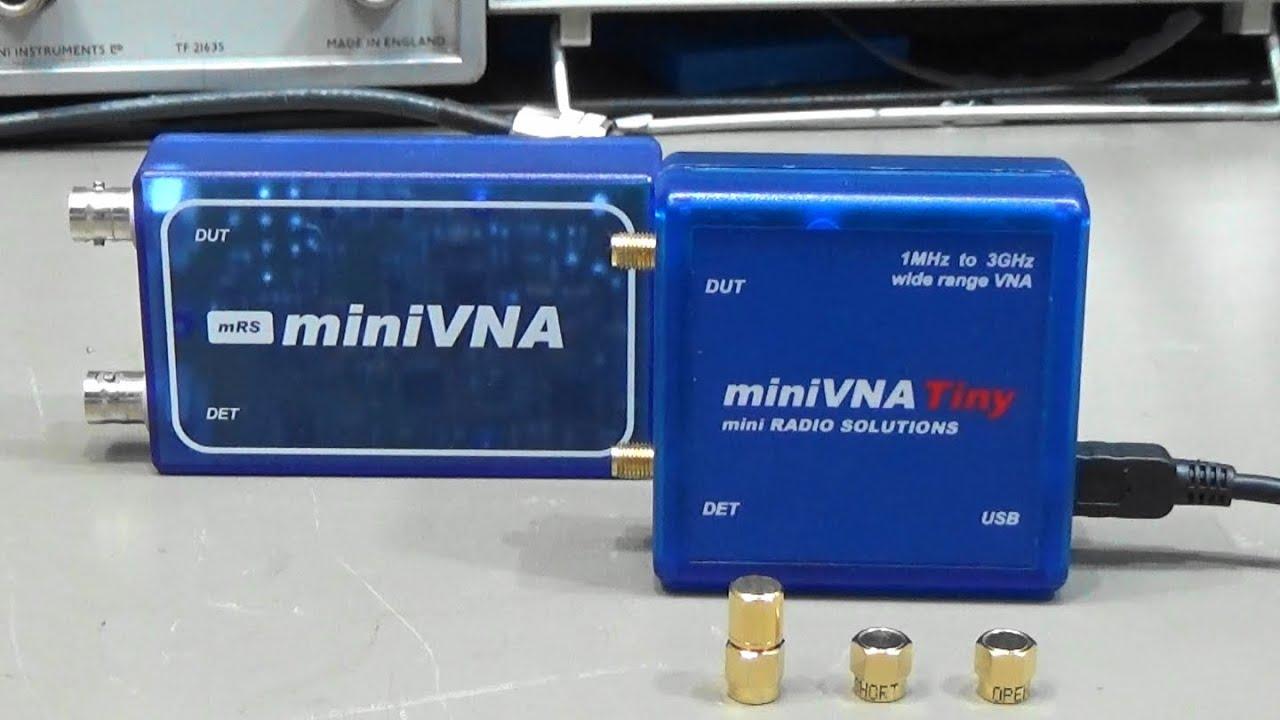 MiniVNA Network Analyser | Wifi UMTS/3G GSM Antennas, Radio
