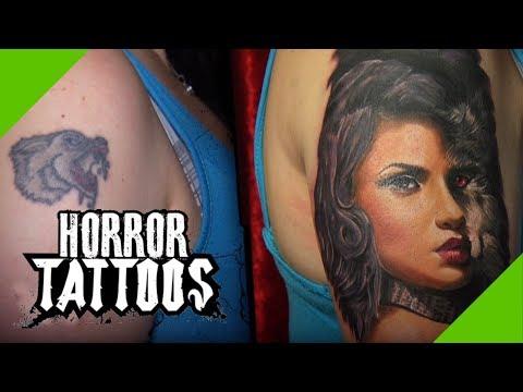 Sexy Wolf-Frau: Tränenreiches Cover up | Köln (4/4) | Horror Tattoos | sixx