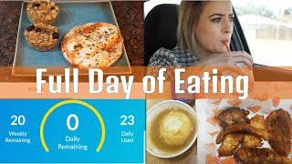 Full Day of Eating Weight Watchers Freestyle 1.8.18