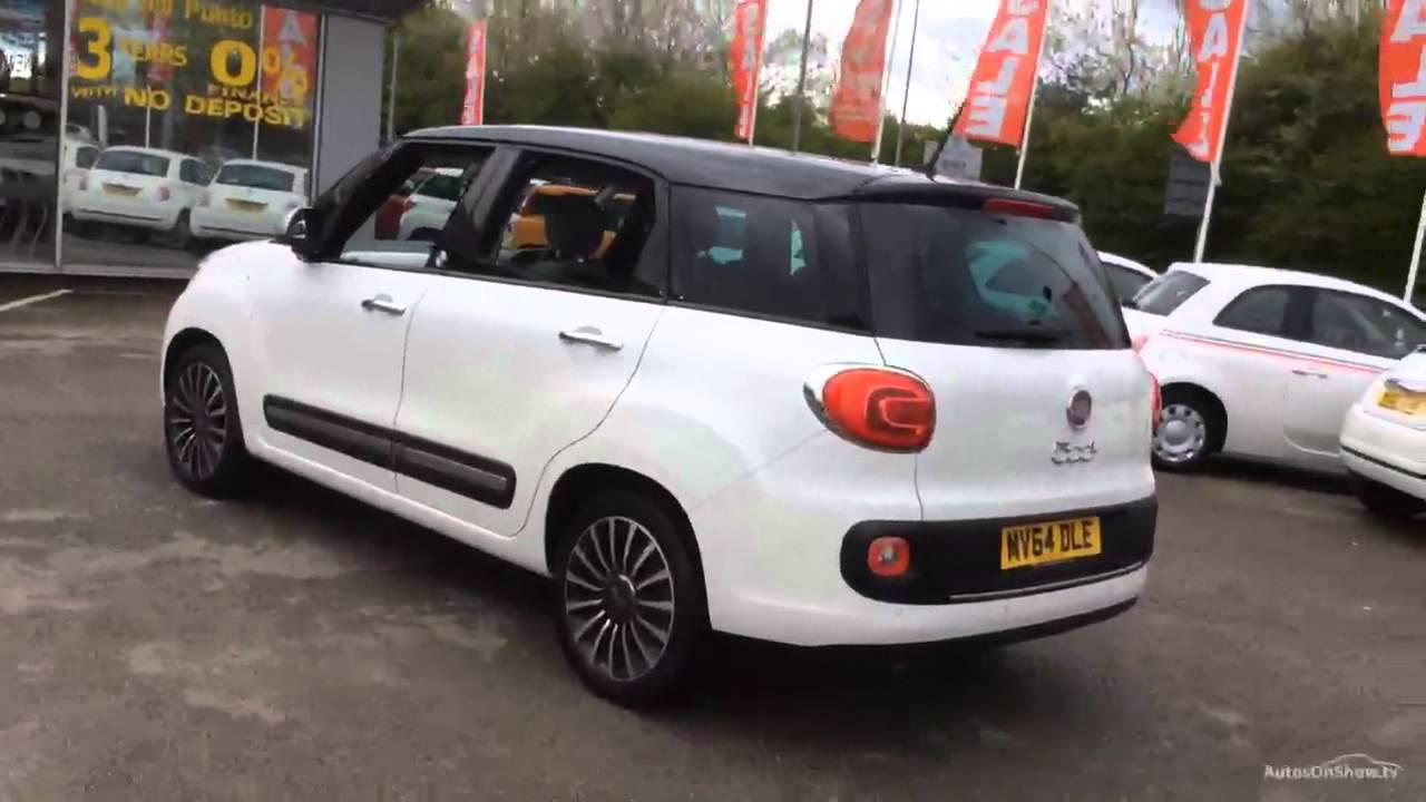 FIAT 500L MPW MULTIJET POP STAR WHITEBLACK 2014  YouTube