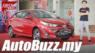 2019 Toyota Vios facelift First Look in Malaysia - AutoBuzz.my