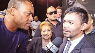 """Manny Pacquiao REACTION! vs Keith Thurman """"I Will END HIM!"""""""
