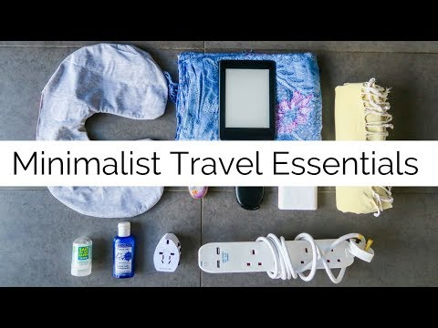 Minimalist Travel Essentials ✈️ | Long Term Travel | Packing Tips