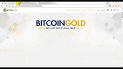 Bitcoin Gold Hard Fork coming on 25 Oct