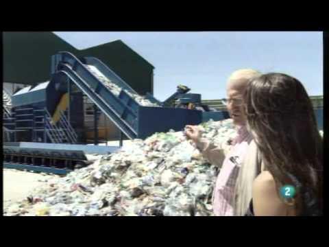 Así es una planta de reciclaje. Espacio de EFverde en La aventura del saber (RTVE) 15-10-2012