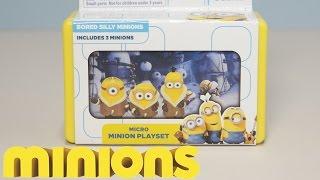 Video BORED SILLY MINIONS - Micro Minion, Movie Scene Playset New 2015 Minions Movie Exclusive Toys download MP3, 3GP, MP4, WEBM, AVI, FLV Agustus 2017