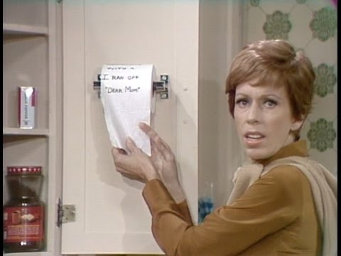 Toilet Tissue from The Carol Burnett  full sketch