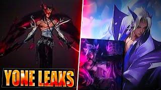 YONE NEW CHAMPION LEAKED - Splash Arts, Abilities & Skin + Spirit Blossom Riven - League of Legends