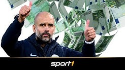 Über 1,1 Milliarden Ablöse: Pep Guardiolas verrückte Transfer-Bilanz | SPORT1