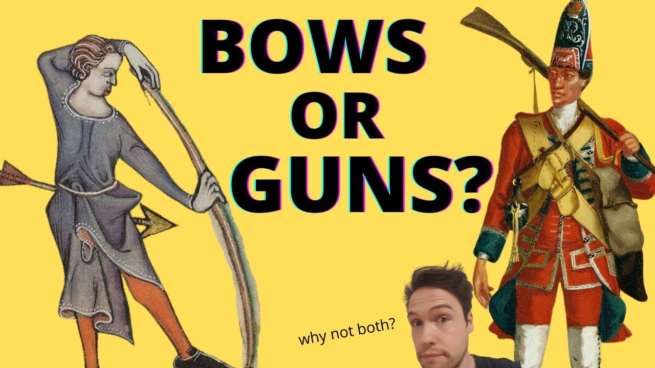Are Flintlock Muskets Better Than Medieval Longbows? A Response to @Brandon F. AND @Shadiversity