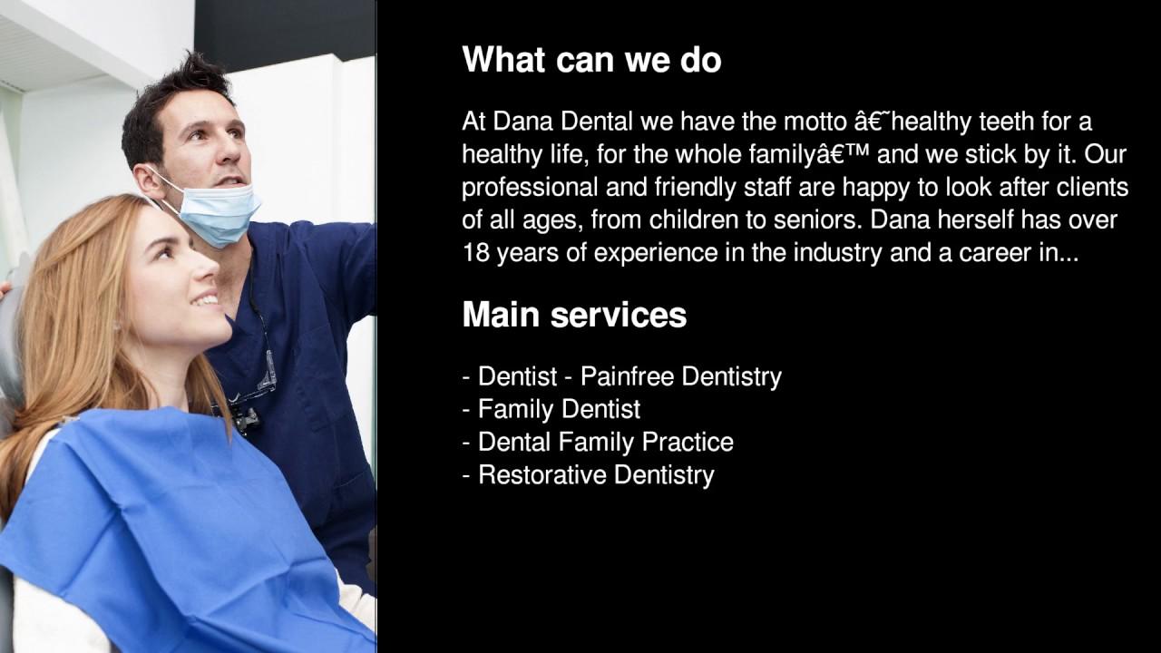 Dana Dental Ltd - Dentist - Painfree Dentistry in Christchurch, New Zealand