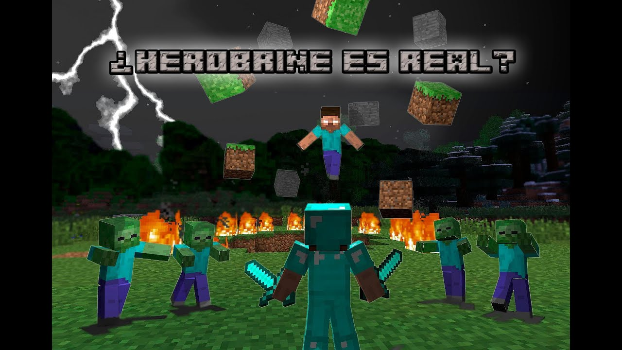 Minecraft herobrine es real danos tu opini n al ver for Videos de minecraft en la vida real