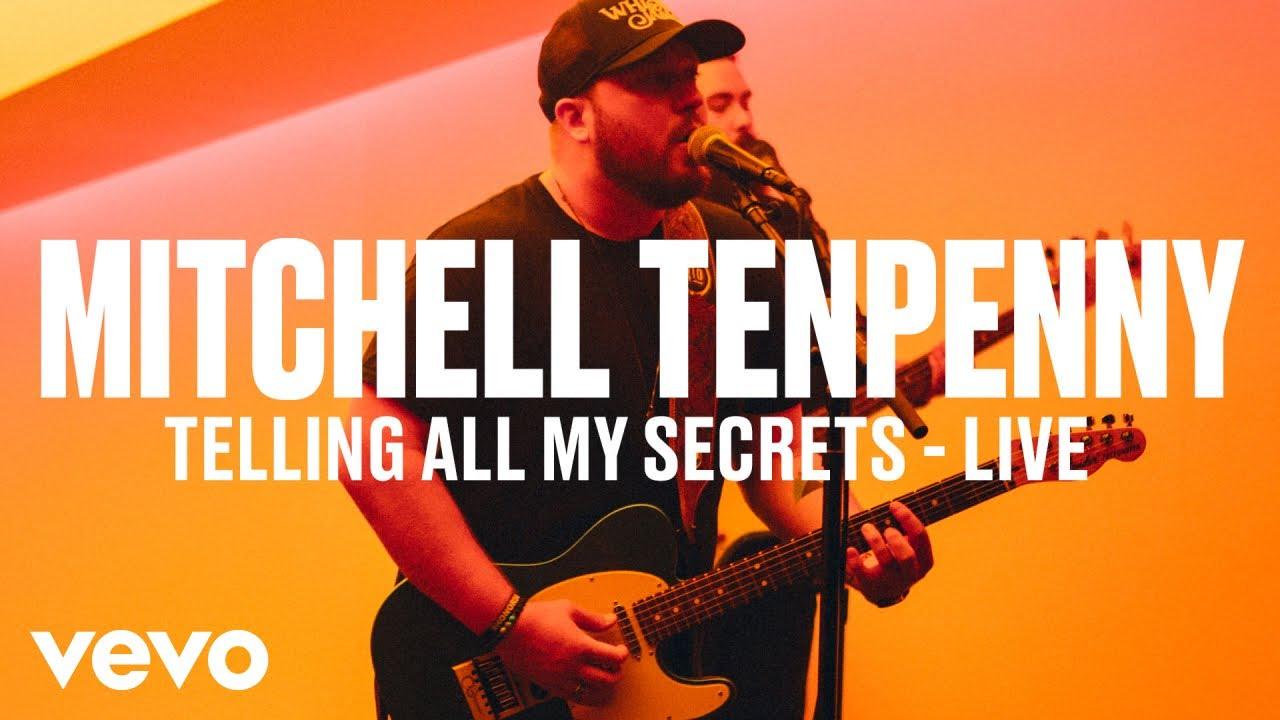 Mitchell Tenpenny — «Telling All My Secrets» (Live) | Vevo DSCVR