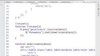 Servlet+JSON+AJAX Part 1