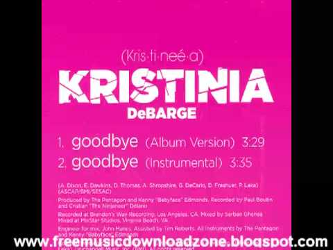 Kristinia DeBarge Goodbye Promo CD(HQ MP3)