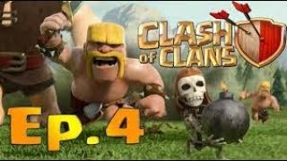 Attacco con domatori clash of clans ep_4