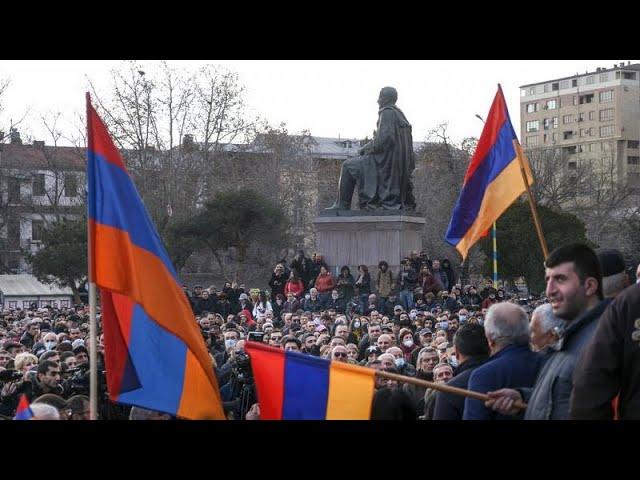 <span class='as_h2'><a href='https://webtv.eklogika.gr/koryfonetai-i-politiki-krisi-stin-armenia' target='_blank' title='Κορυφώνεται η πολιτική κρίση στην Αρμενία'>Κορυφώνεται η πολιτική κρίση στην Αρμενία</a></span>