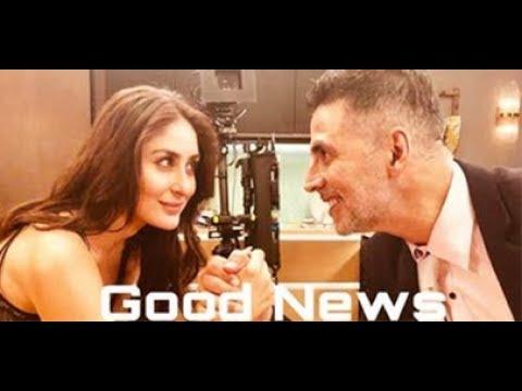 Akshay Kumar And Kareena Kapoor's Good News Movie 2019 -  Shooting Started thumbnail