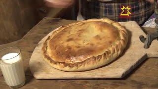 Пирог с яблоками (Чувашская кухня)