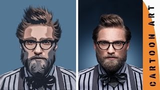 filtre ve leke | photoshop cs6/cc ile karikatür etkisi