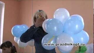 Урок 4. Гирлянда из воздушных шаров