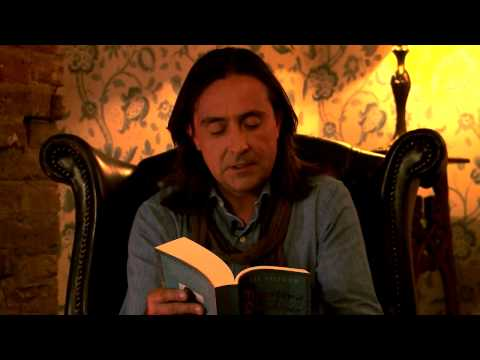 Neil Oliver reading from MASTER OF SHADOWS