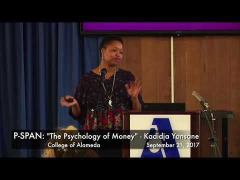 """P-SPAN #591: """"The Psychology of Money"""" at College of Alameda"""