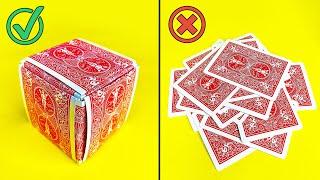 How To Make A Magic Card Box!