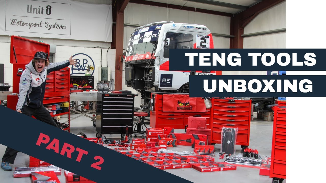 PART 2: Unboxing Teng Tools
