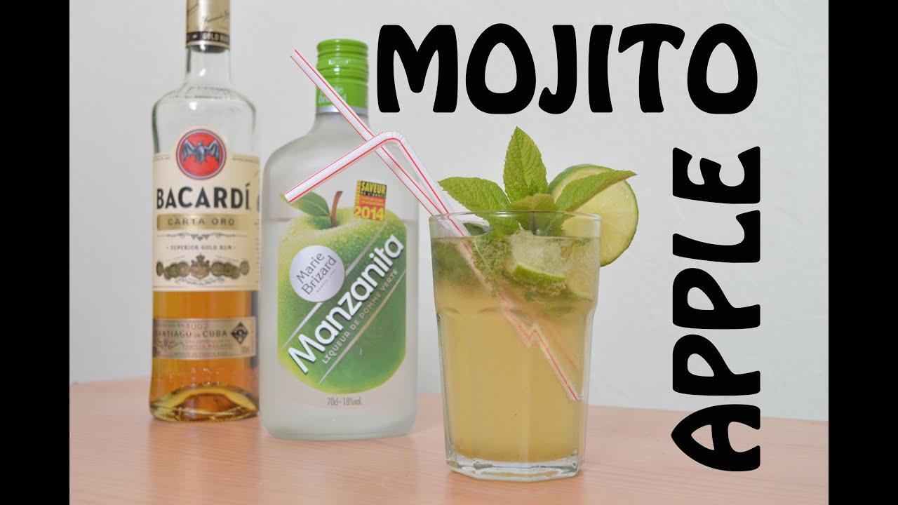 Tuto Cocktail Apple Mojito Comment Faire Un Mojito A La Pomme