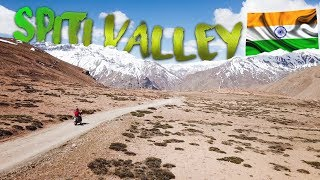 Beautiful Spiti Valley India by Motorbike