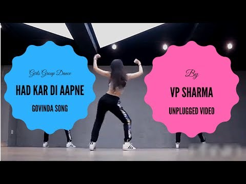 Hadh Kardi Aapne mp3 Song Dj | Japanese Girls Group Dance On Bollywood Song | Unplugged | VP Sharma