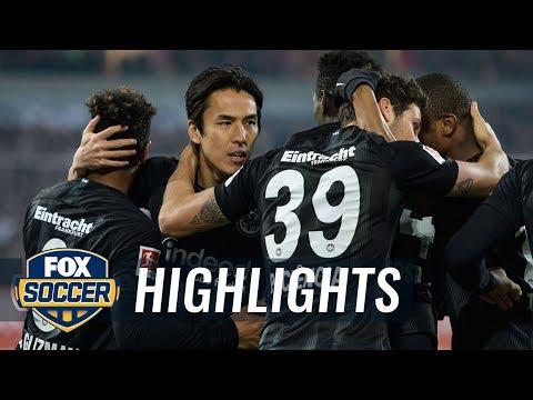 Fortuna Dusseldorf Vs. Eintracht Frankfurt | 2019 Bundesliga Highlights