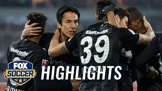 Fortuna Dusseldorf vs. Eintracht Frankfurt | 2019 Bundesliga Highlights