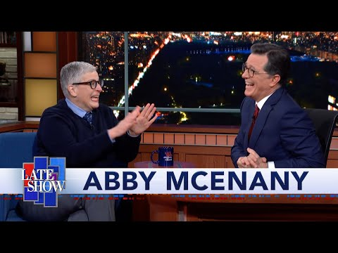 Stephen Colbert gives belated improv notes to former student and 'Work in Progress Star' Abby McEnany
