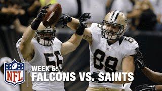 Big Blocked Punt & TD by Saints LB Michael Mauti | Falcons vs. Saints | NFL