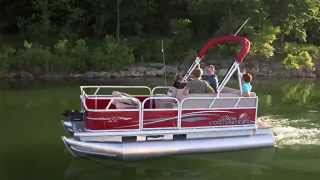 SUN TRACKER Boats 2015 BASS BUGGY 16 DLX and ET Fishing Pontoons