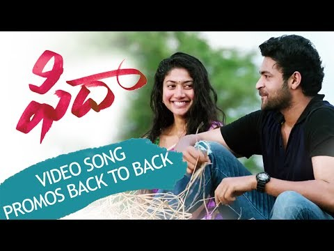 Fidaa 5 Video Songs Trailers Back To Back - Varun Tej, Sai Pallavi