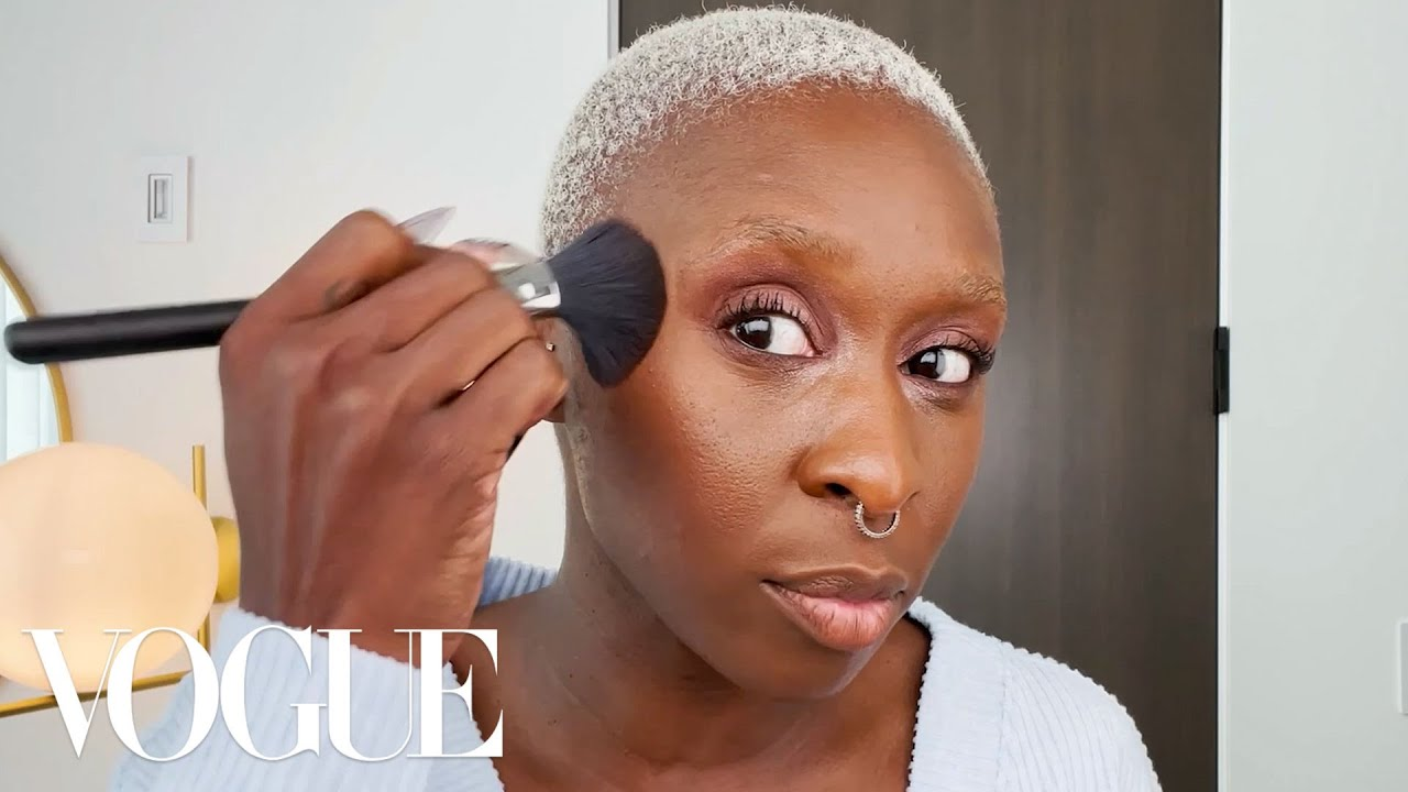 Cynthia Erivo's Guide to Skin Care and All-Brown Makeup   Beauty Secrets