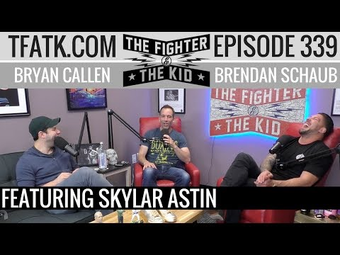 The Fighter and The Kid  Episode 339: Skylar Astin