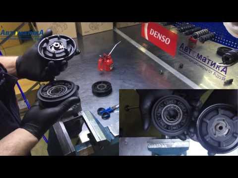 Ремонт компрессора кондиционера Opel Corsa D. Замена муфты, контрольного клапана.
