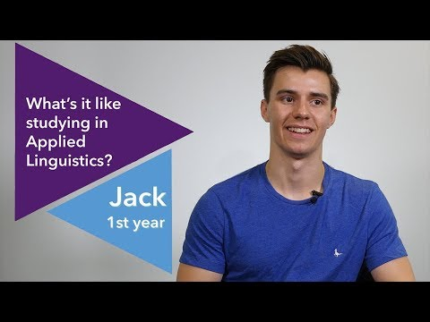 Studying in Applied Linguistics | University of Warwick