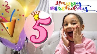 Cali's 5th Birthday Party!