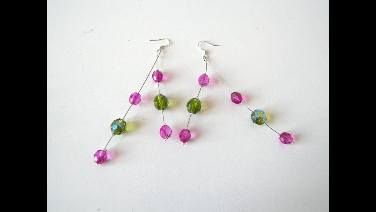 earrings teardrop crafts jewelry main unleashed diy tutorial beaded