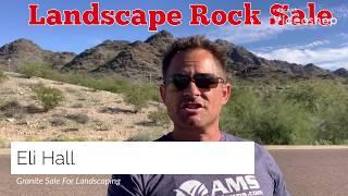 Decorative Landscaping Rock Sale!