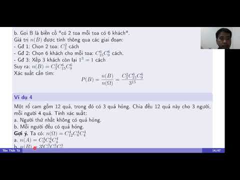 1.3 Định nghĩa và tính chất của xác suất