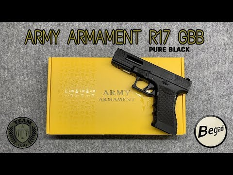 [REVIEW] ARMY ARMAMENT R17 GBB G17 Airsoft Review TEAM-030-AIRSOFT