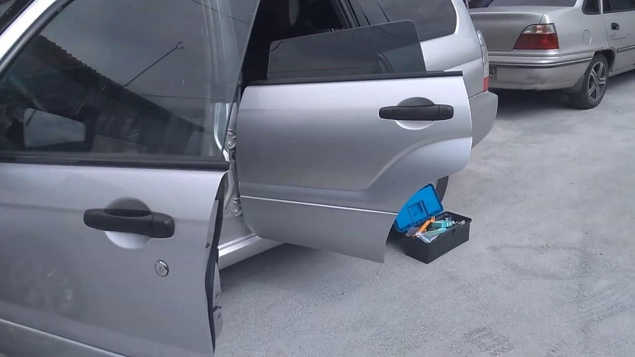 Ремонт стеклоподъёмников на Subaru Forester